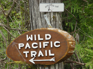 Wild Pacific Trail Sign
