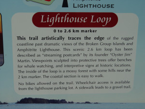 Lighthouse Loop Sign
