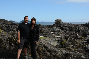 Enjoying the Wild Pacific Trail