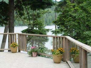 Our Fabulous Deck - Call Of The Loon Suite