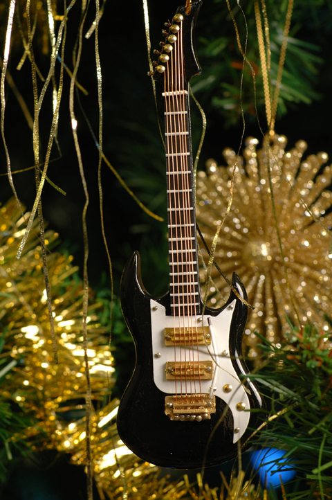 guitar christmas decorations  Rainforest Islands Ferry