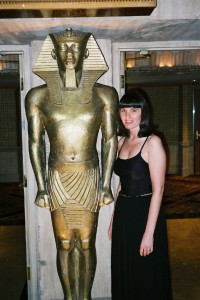 Golden Luxor Statue